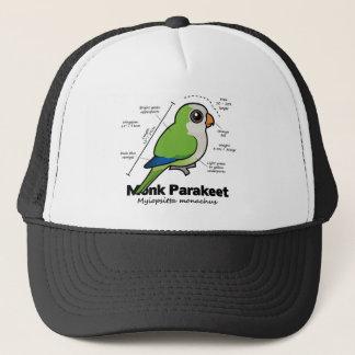 Mönchparakeet-Statistiken Truckerkappe