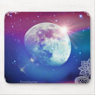 Mond-Auflage Mousepad