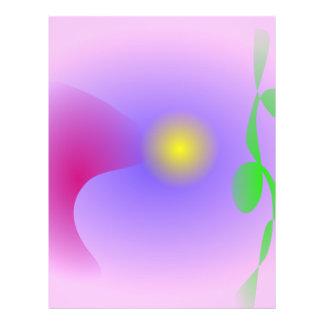 Mond-Betrachtungs-Festival-Rosa abstrakt Flyers