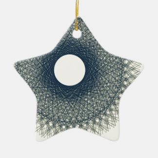 Mond, der schwarze helle abstrakte Kunst Keramik Ornament
