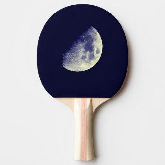 Mond im blauen Himmel Tischtennis Schläger