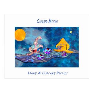 Mond im Krebs Postkarte