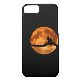 Mond-Katze Phonecase iPhone 8/7 Hülle