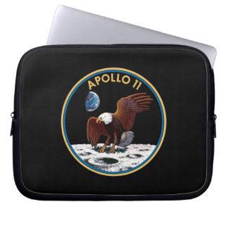 Mond-Landungs-Mondflecken-Insignien der NASAs Laptopschutzhülle