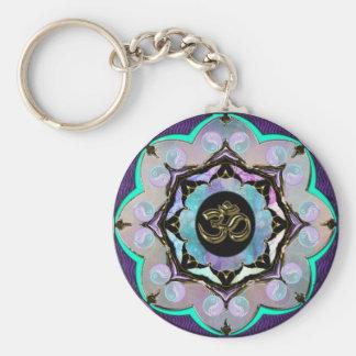 Mond-Mandala Schlüsselanhänger