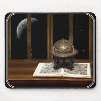 Mond mit einer Ansicht Mousepads