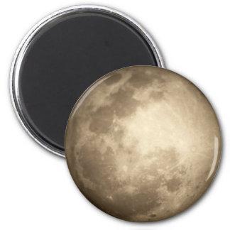Mond-nahere Ansicht-runder Magnet