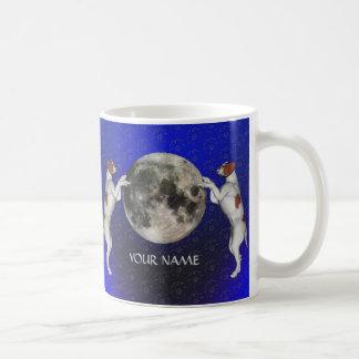 Mond Pastor-Russells Terrier Kaffeetasse