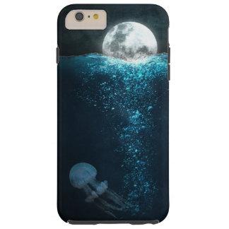 Mond-Quallen-Nachtphantasie-Kunst Tough iPhone 6 Plus Hülle