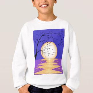 Mond-Reflexion Sweatshirt