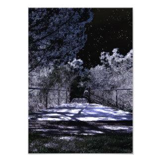 Mond-Schatten Fotodruck