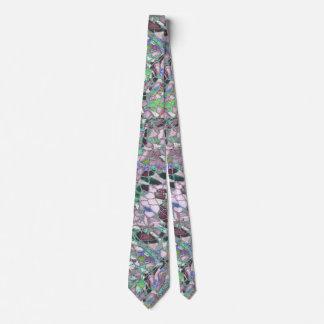 Mond schaukelt Krawatten-weiche Veränderung Personalisierte Krawatten