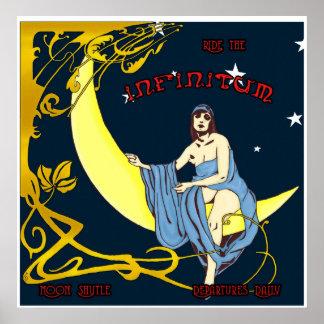 Mond-Shuttle Poster