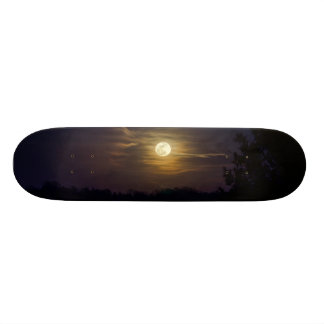 Mond-Silhouette 19,1 Cm Old School Skateboard Deck