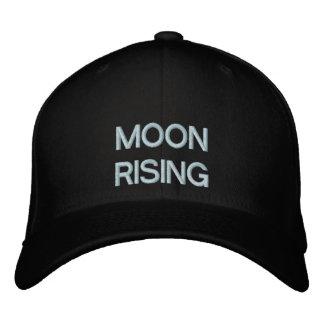 Mond-Steigen Bestickte Kappe