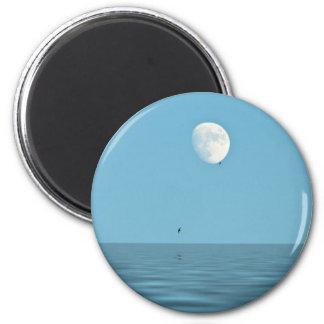 Mond über dem Meer Magnete