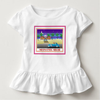 Mond über Miami Kleinkind T-shirt