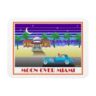 Mond über Miami Magnet