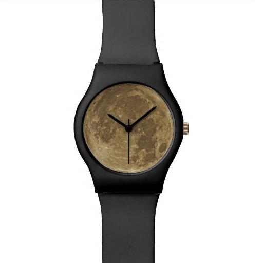 Mond-Uhr