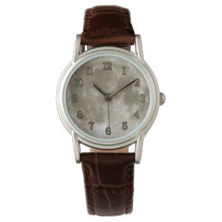Mond-Uhr Armbanduhr