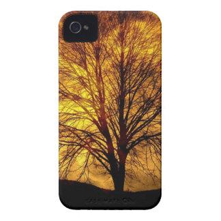 Mond-und Baum iPhone 4 Hülle