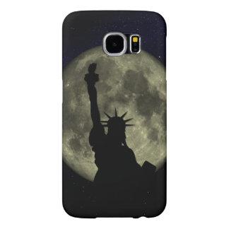 Mond und Dame Liberty