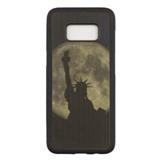 Mond und Dame Liberty Carved Samsung Galaxy S8 Hülle