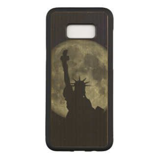 Mond und Dame Liberty Carved Samsung Galaxy S8+ Hülle
