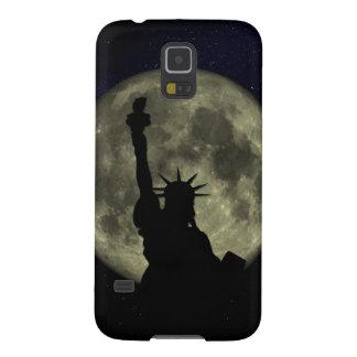Mond und Dame Liberty Samsung Galaxy S5 Hülle