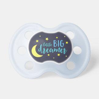 Mond und Stern-blauer kleiner großer Träumer Schnuller