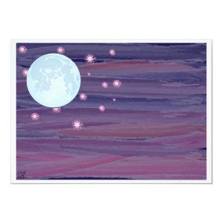 Mond und Sterne Karte