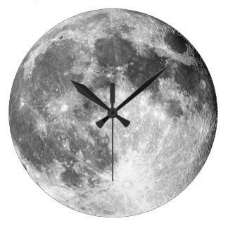Mond-Wanduhr Große Wanduhr