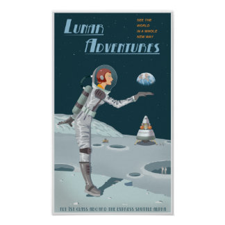 Mondabenteuer Poster