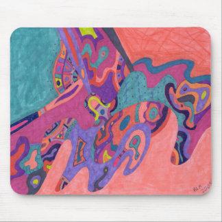 MondCrashers, abstrakte Kunst Mauspad