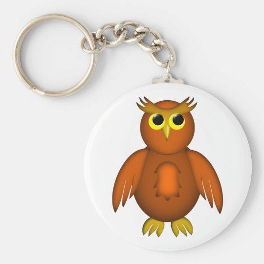 Mondeule Eule moon owl Schlüsselanhänger
