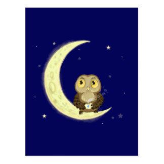 Mondeulen-Mitternachtkaffee Postkarte