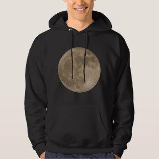 Mondhoodie-Vollmond-Sweatshirt-Mond-Shirt Hoodie