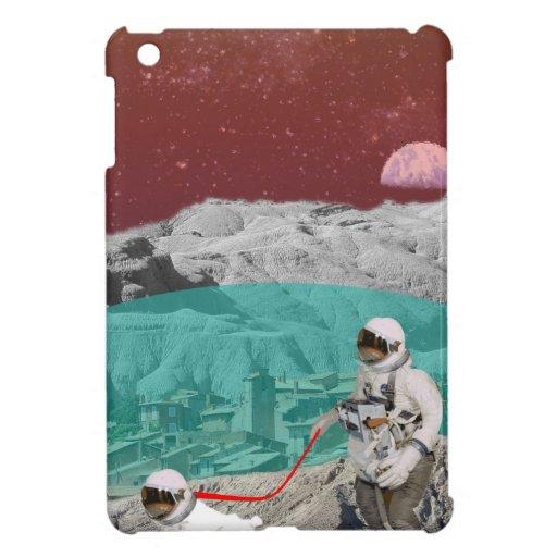 Mondkolonien-Astronaut mit Hund iPad Mini Hüllen