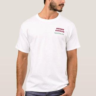 Mondo Burrito-grundlegendes T-Stück T-Shirt