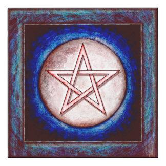 Mondpentagramm - Roter Glanz