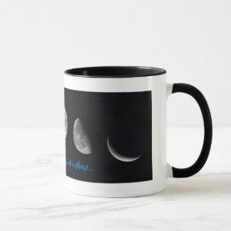 Mondphasen-Tasse Tasse