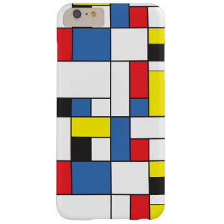 Mondrian inspirierte Fall Barely There iPhone 6 Plus Hülle