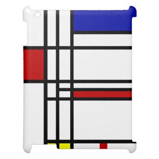 Mondrian moderne Kunst Hülle Für iPad