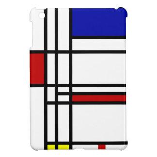 Mondrian moderne Kunst iPad Mini Hülle