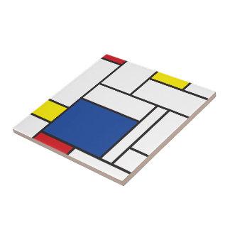 Mondrian unbedeutende De Stijl Kunst-Fliese Keramikfliese