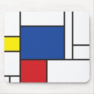 Mondrian unbedeutende De Stijl moderne Kunst Mousepads