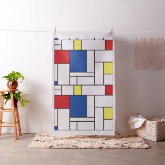 Mondrian unbedeutendes De Stijl Stoff
