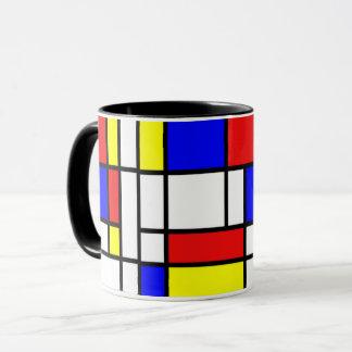Mondrian - Zusammensetzung II - Kunst-Tasse Tasse