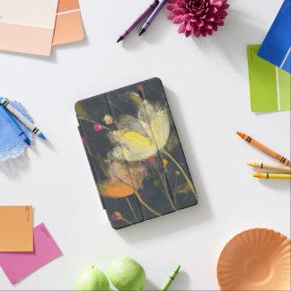 Mondschein-Garten auf Schwarzem iPad Mini Cover