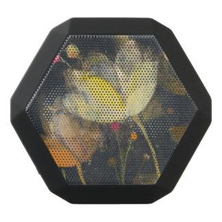 Mondschein-Garten auf Schwarzem Schwarze Bluetooth Lautsprecher